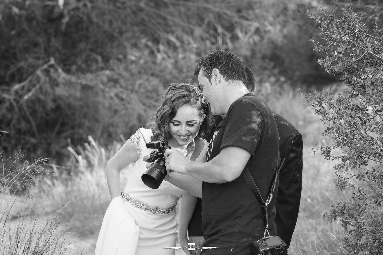 confianza con el fotógrafo de bodas