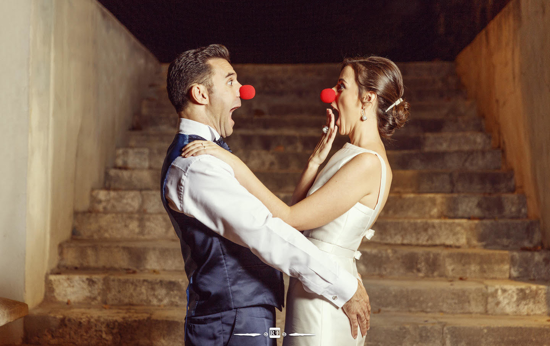 Fotografías divertidas de boda