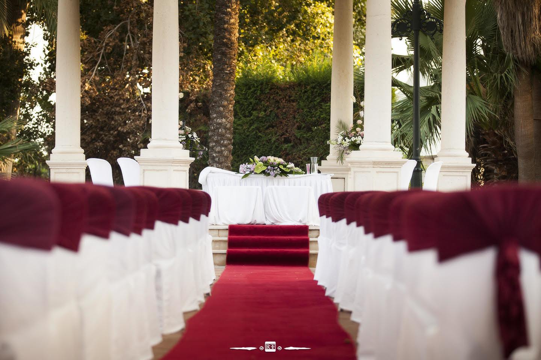 Decoración de bodas en jardines