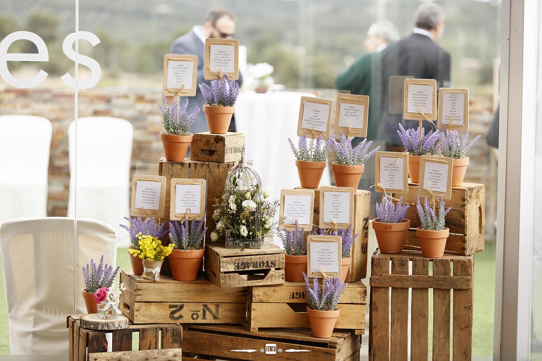 Decoración de bodas en jardines Valencia flores