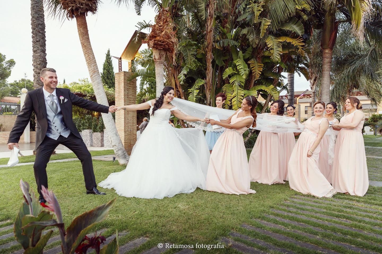 El papel de la dama de honor en la boda