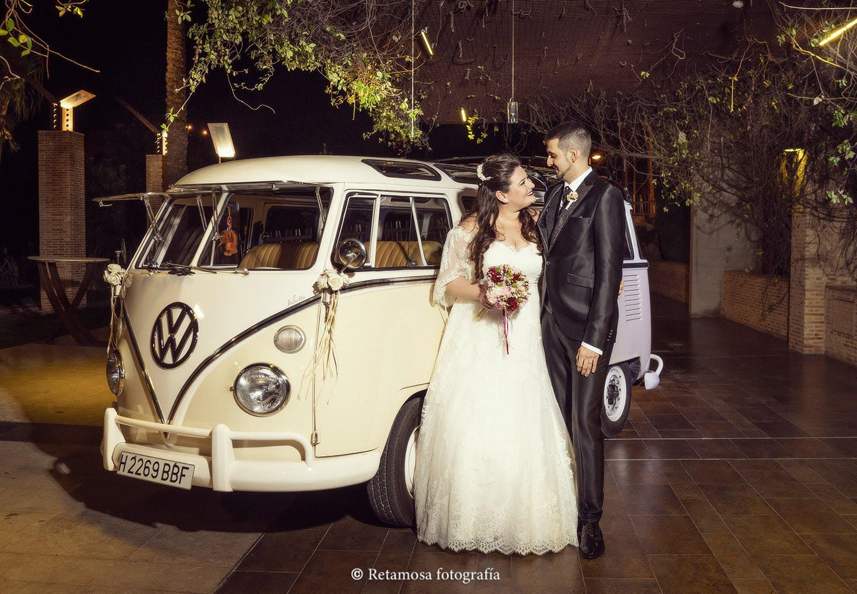 Transporte original para boda en Valencia