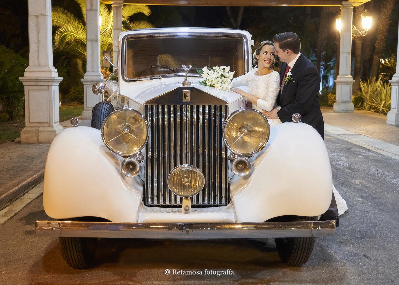 Vehículos vintage para boda