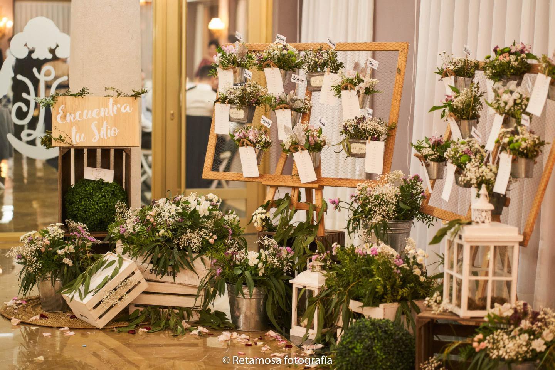 Ideas de decoración con flores en una boda