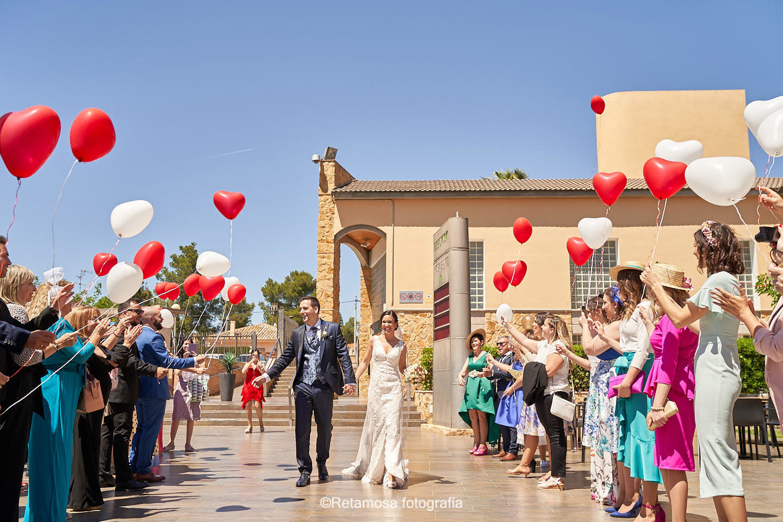 Globos en las bodas de Valencia